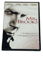 Mr. Brooks (DVD, 2009, Widescreen) Kevin Costner Demi Moore Dane Cook