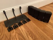 5 BOSE DOUBLE CUBE SPEAKERS BLACK  LIFESTYLE 18 28 38 48 Plus STANDS/WALL Mounts