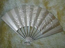 Vintage Brass Decorative Fan Wall Decor 91509