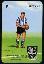 RARE Football Playing Card - Sheffield Wednesday 1964-5