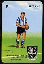 RARE Football Playing Card - Sheffield Wednesday 1964-5