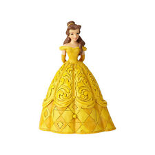 Jim Shore Disney Belle Beauty Beast Chip Charm Figurine New 2018 6000963