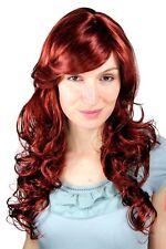 Perruque pour Femme Rouge Cuivre Ondulé Bouclée Long Raie 9329-35 Perruque