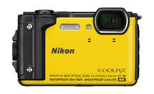 Cámara Digital Nikon Coolpix W30 A Prueba De Impactos Agua/- Amarillo