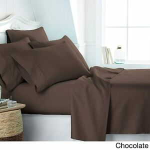 Australian Bedding Items Cotton Double/Queen/King/Super King Chocolate Solid