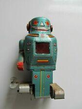 Mechanical Mighty Robot Tin Wind Up Sparking Toy Noguchi Shoten made in Japan