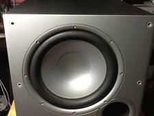 Polk Audio PSW10 10-Inch Powered Subwoofer Home Theater Musical Low Bass Speaker