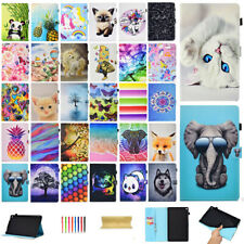 For Amazon Kindle Fire HD 10 2019 9th Gen Sleep/Wake Leather Smart Case Cover