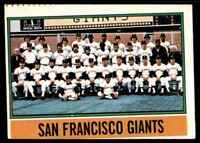 1976 O-Pee-Chee San Francisco Giants . #443