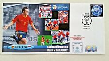 First Day Cover KOREA JAPAN FIFA WORLD CUP 2002 SPAIN v PARAGUAY