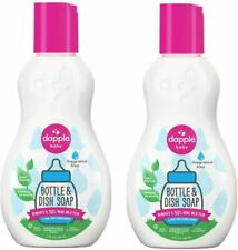New listing Dapple Bottles and Dishes Dishwashing Liquid in Fragrance-Free ( pack 2)