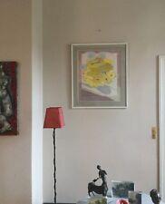 Damien HÉROUARD,né en 1957.Sans titre.Aquarelle et encre.1981.SBD.55x45.Encadré.