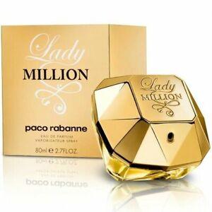 Paco Rabanne Lady Million Eau de Parfum EDP 80ml Spray for Her New VALENTINES
