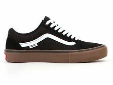 Vans Old Skool Pro Shoes Black/White/MediumGum