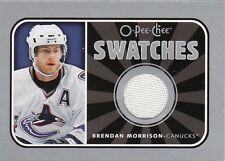 BRENDAN MORRISON 06-07 O-Pee-Chee OPC  SWATCHES GAME USED JERSEY S-BM