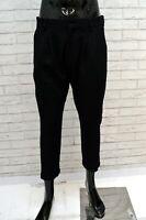 Pantalone LIU JO Uomo Jeans Taglia 46 Classico Tasche Lana Pants Capri Corto