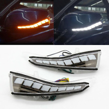 2X For Infiniti Q30 QX30 Q50 QX50 QX60 Q70 LED Rearview Mirror Light Turn Signal