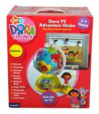 New VTECH Dora The Explorer TV ADVENTURE GLOBE Interactive Toy Geography