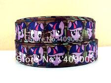 "My little pony ribbon twilight sparkle large 1"" neuf uk vendeur gratuit p&p"