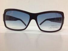 Coconuda occhiale da sole da Donna Marrone quadrato lente Celeste sfumata