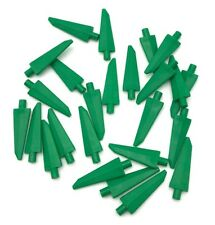 Lego Green Spear Tips Soft Rubber Weapons Pieces Parts