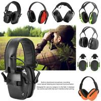 Electronic Earmuff Noise Reduction Hearing Protector Soundproof For Shooting Hot