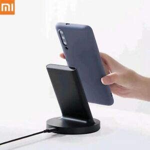 Xiaomi Wireless Charger 20W Qi Charging Pad Dock Stand For iPhone Android Phones