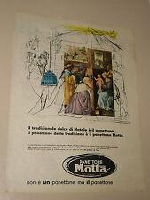 MOTTA PANETTONE NATALE TRADIZIONE=ANNI '50=PUBBLICITA'=ADVERTISING=WERBUNG=213=