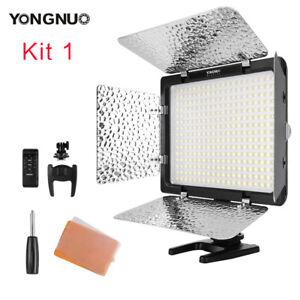 New Yongnuo YN300III 3200K-5500K LED Video Light AC for Nikon Canon DSLR Camera