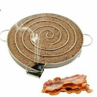 BBQ Cold Wood Smoker Stainless Grill Cooking Tool Smoking Meat Barbecue