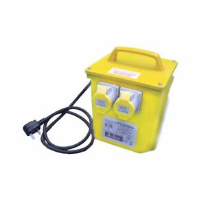 Elite 3.3kva Power Tool Rated Site Transformer with 2x 16amp Outlets