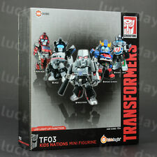 Kids Logic TRANSFORMERS Kids Nations TF03 LED Megatron Mini Figure 5pcs Set