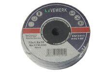 Bergen Extra Thin Discos De Corte De Metal (75x1.0mm X 9.5mm) 10pk B8062