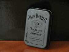 Jack Daniels whiskey playing cards black tin metal box new unopened rare