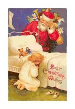 Vintage Christmas Santa Cross Stitch Pattern