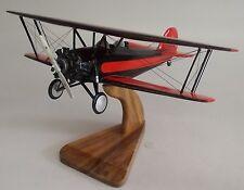 Model-10 Taperwing Waco Airplane Desktop Wood Model Big