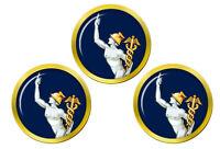 Royal Corps de Signaux Mercury Symbole, Armée Britannique Marqueurs Balles Golf