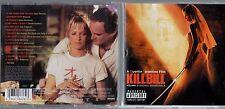 KILL BILL VOLUME 2 OST CD colonna sonora ENNIO MORRICONE JOHNNY CASH UMA THURMAN