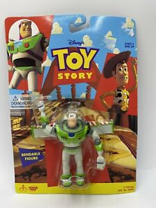 Vintage Toy Story Bendable Figure Buzz Lightyear 1990's New