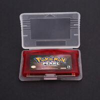 Pokemon Pearl Version Game Boy Advance FAN For Nintendo Game Card Cartridge Only
