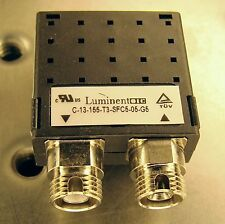QTY: 40 LUMINENT 1.3um LASER DIODE DUPLEX TRANSCEIVER SINGLE MODE FC 155 Mbps