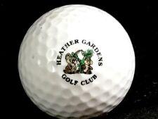 Vintage Logo Golf Ball: Heather Gardens Golf Club Colorado
