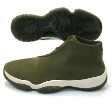 Nike Air Jordan Future Olive Canvas Trainers Shoes AR0726-300 Women's Size 10