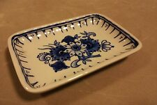 De Porceleyne Fles 1979 Royal Delft vintage dutch ceramic pin tray small dish