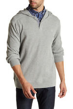 Timberland Men's Size Small Long Sleeve Waffle top Cotton Knit Gray Hoodie NWT