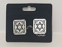 Tallit Talis Clips Prayer Shawl ClipsHolder Magen Star of David Judaica Talit