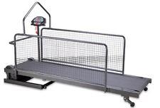 Motorized Dog Treadmill / Walking Machine Wire Mesh Sides 150x37cm walking area