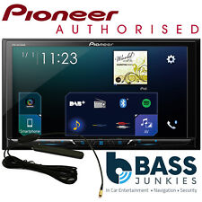 "Pioneer SPH-DA230DAB 7"" Bluetooth DAB+ Radio Carplay Android Car Stereo & Aerial"