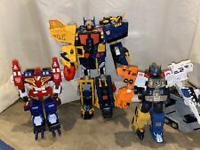 Transformers Energon Omega Supreme Optimus Prime Wing Saber Lot Read Description