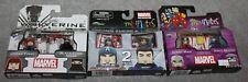 MARVEL MINIMATES SUPER HEROES LOT 3 BOXES URBAN YUKIO/GIANT MAN/FRONTLINE CAP